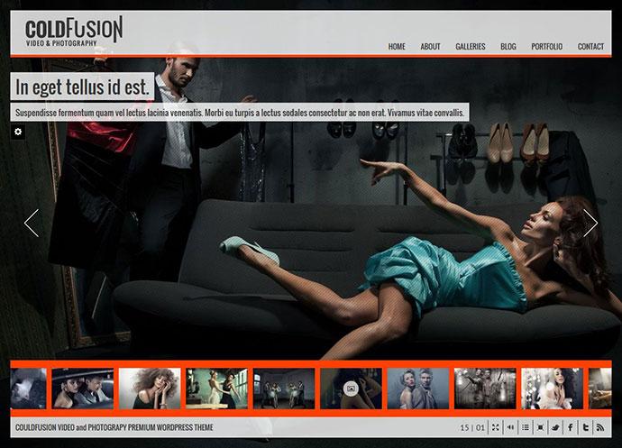 ColdFusion Responsive Fullscreen Video Image Audio