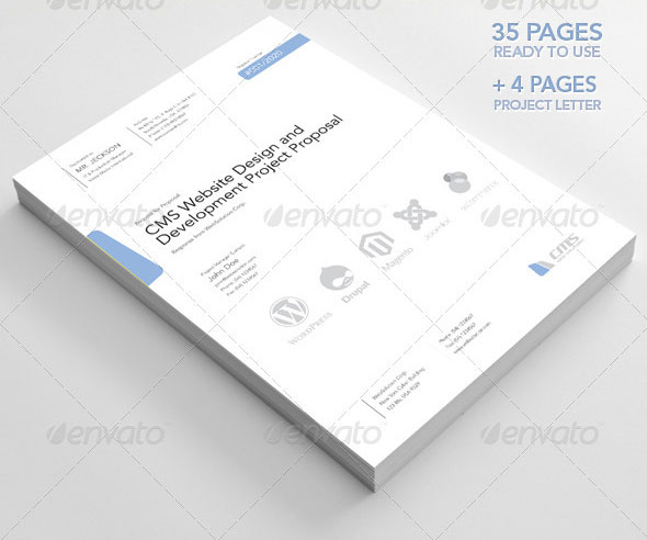 20 Creative Invoice Proposal Template Designs Web Graphic