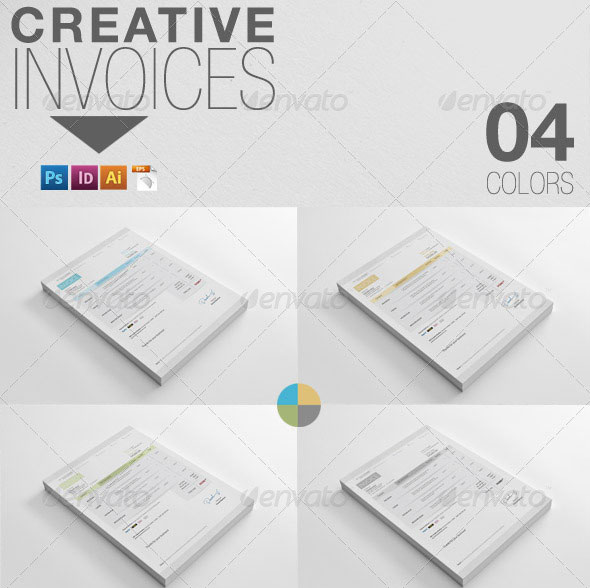 20 creative invoice proposal template designs web graphic creative invoices thecheapjerseys Image collections