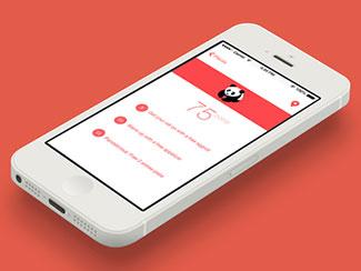 Minimalist iOS App Design