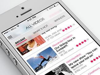 Citizen.tv IOS7 re-design
