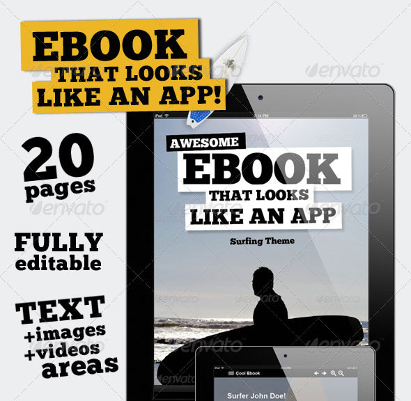 Free Ebook Templates. 50 indesign psd magazine cover layout ...