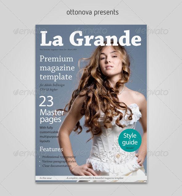 50 Indesign Psd Magazine Cover Layout Templates Bashooka