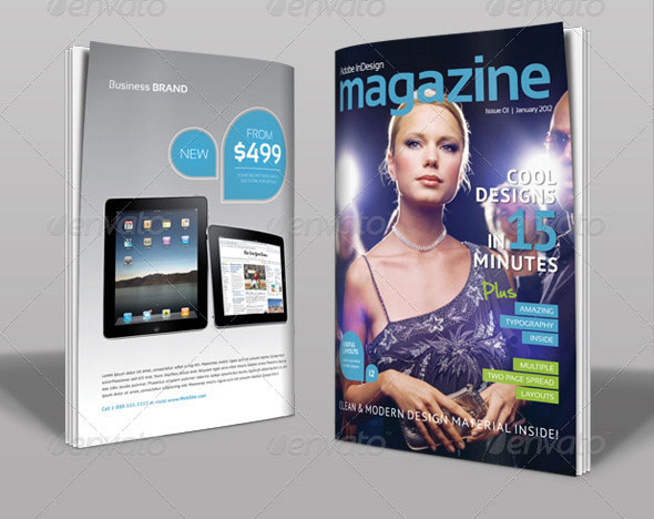 Magazine Template | Volume 2