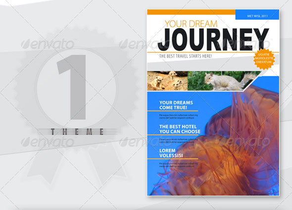 A4 Brochure / Magazine in 2 Themes