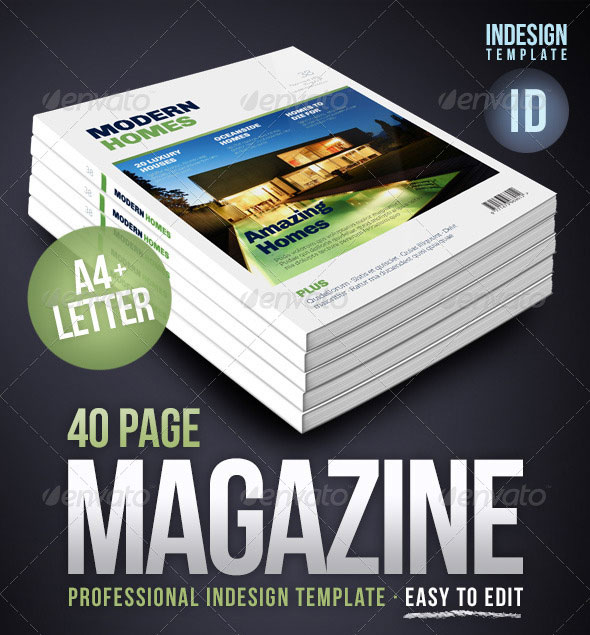 50 InDesign & PSD Magazine Cover & Layout Templates | Web & Graphic ...