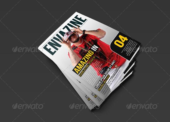 Envazine Magazine Template