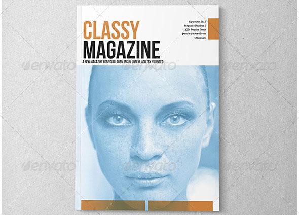 Indesign Classy Magazine