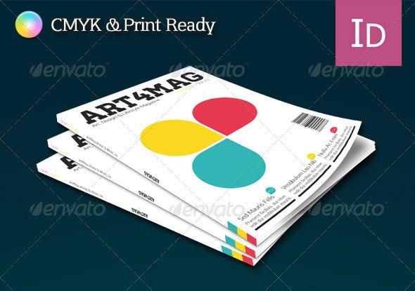 Art 4 Mag Professional Print Template