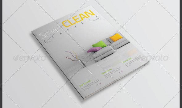 Smart Clean Magazine Template