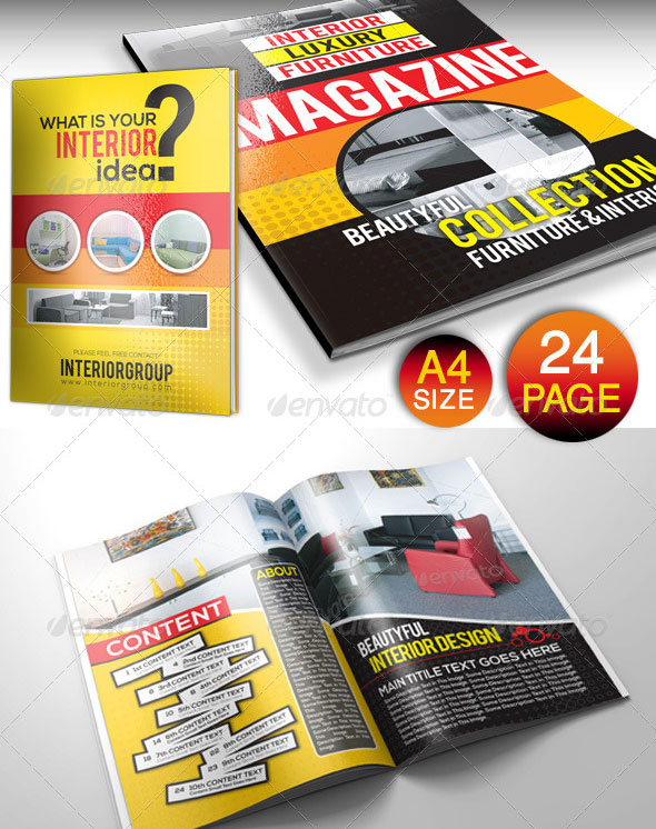 24 Pages Furniture