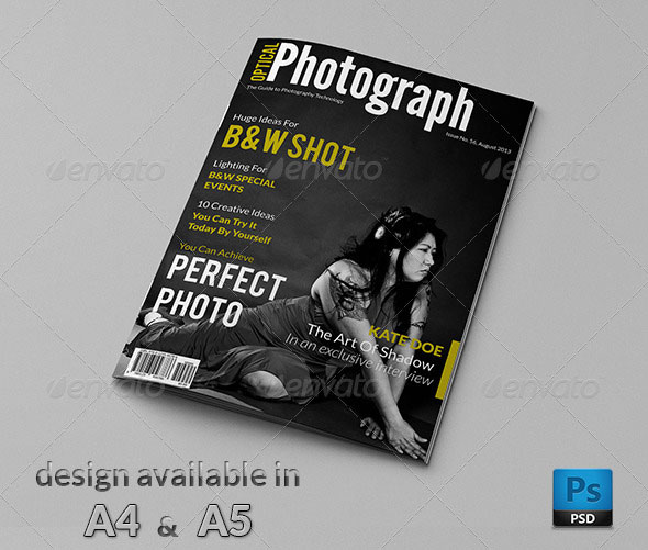 50 Indesign Amp Psd Magazine Cover Amp Layout Templates Web