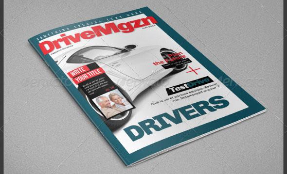 Drive Magazine Template