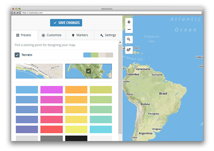 11 Great Tools For Building Interactive Maps – Bashooka