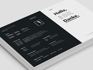 Resume / CV - screen v...