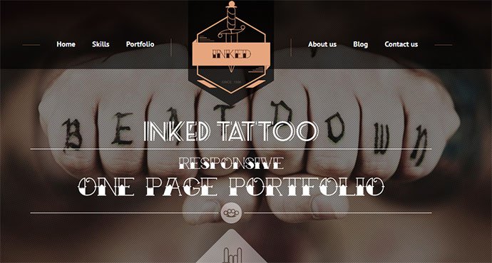 60 Best Single Page Website Templates | Web & Graphic Design ...