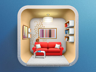 Icon for Interior design