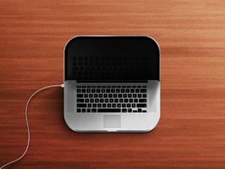 MacBook iOS icon
