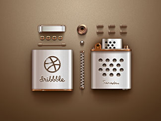 Dribbble Lighter (Dism...
