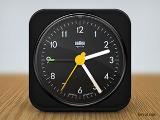 Braun AB1 Clock icon