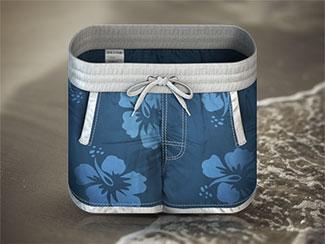 Swim Shorts iPhone Icon