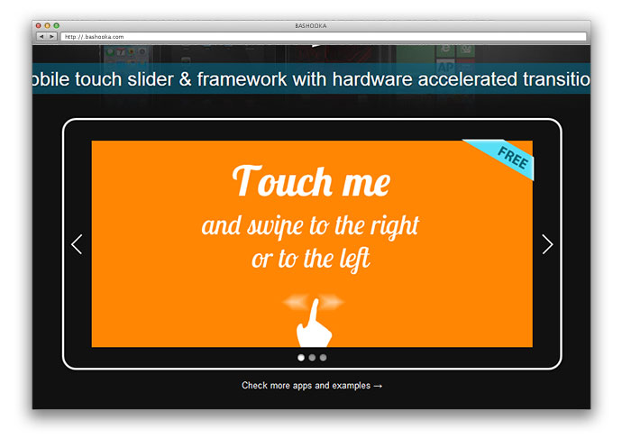 12 Javascript Libraries For Touch-Enabled Mobile Sliders – Bashooka