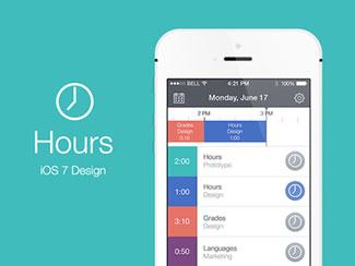 Hours iOS 7