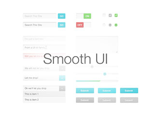 Smooth UI (Free PSD Kit)
