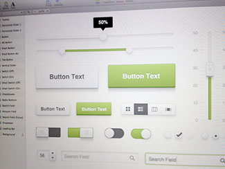 Fresh UI Kit (.sketch )