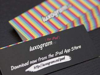 Luxogram iPad App Prom...