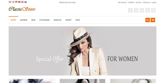 Online Clothes Designing Website Clothing Design Templates