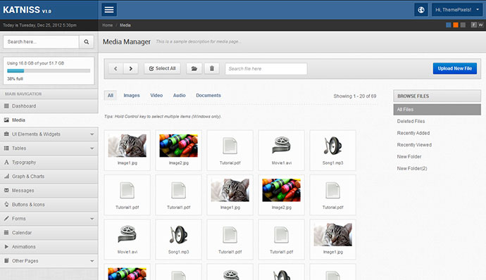 46 Free & Premium Bootstrap Admin Templates | Web & Graphic Design ...
