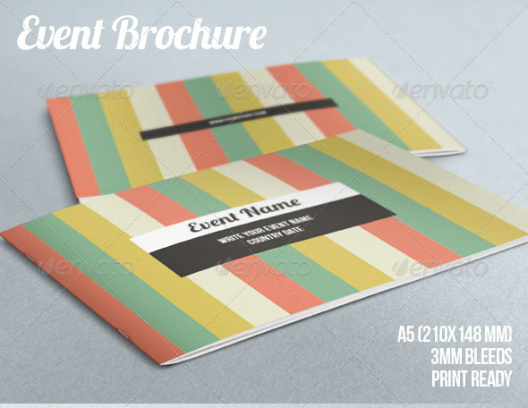 Best Brochure Templates Web Graphic Design Bashooka - Event brochure template