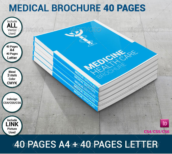 Medical Brochures 40 Pages