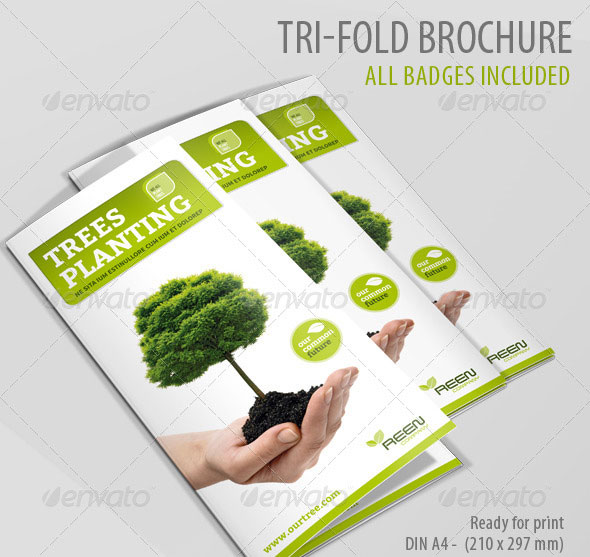 Tree Planting Tri-Fold Brochure