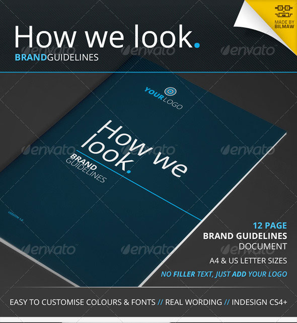 How We Look – Brand Guidelines