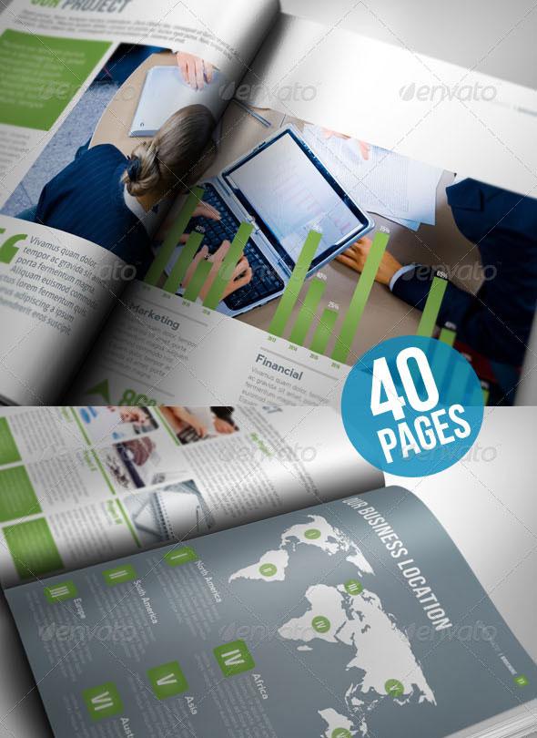 30 Best Brochure Templates 2019 : PSD & InDesign – Bashooka