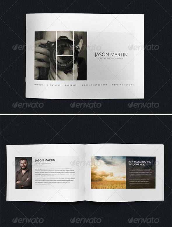 Creative Photographer Portfolio Brochure
