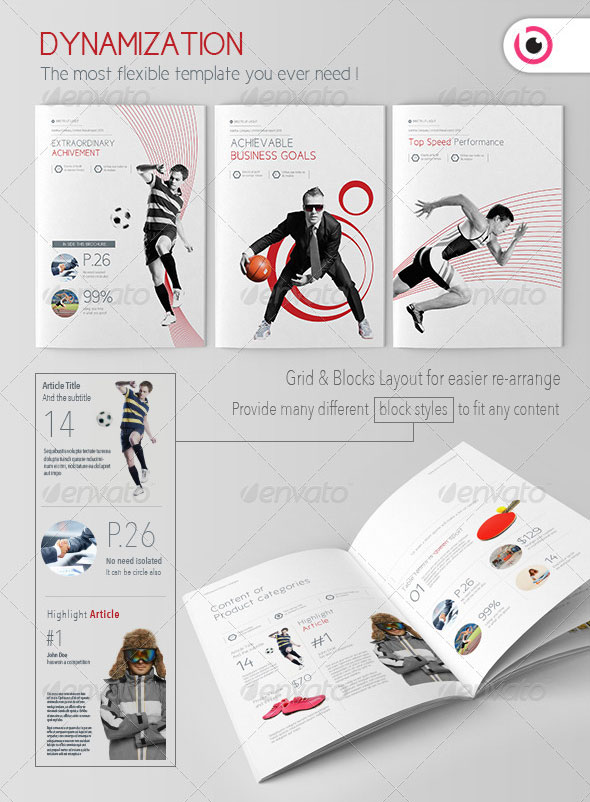 Dynamization Brochure/Catalogue Template