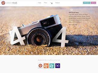 Revel 404 page mock