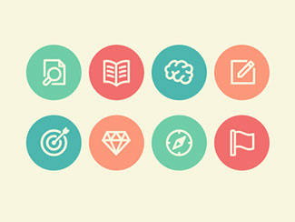 Branding Process Icons