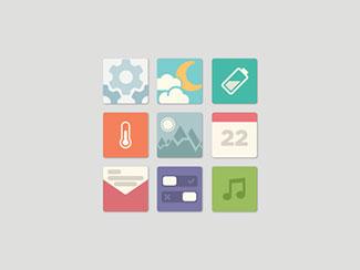 Flat App Icons