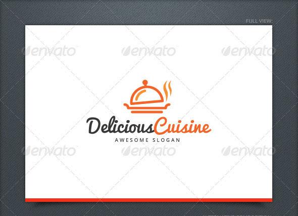 Delicious Cuisine Logo Template
