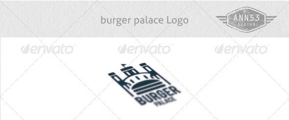 Burger Palace Logo Design