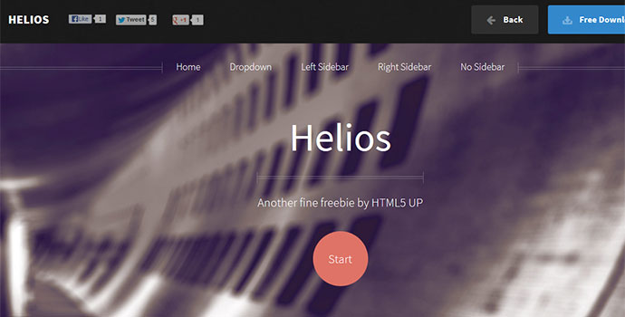 A Free Responsive Site Template By Html5 Up
