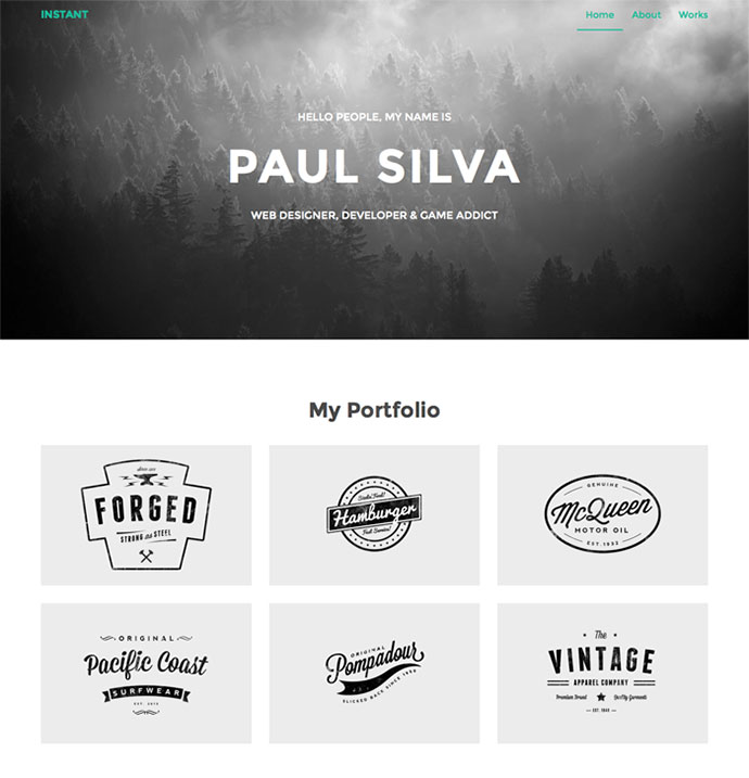 45 Best Bootstrap Portfolio Website Templates