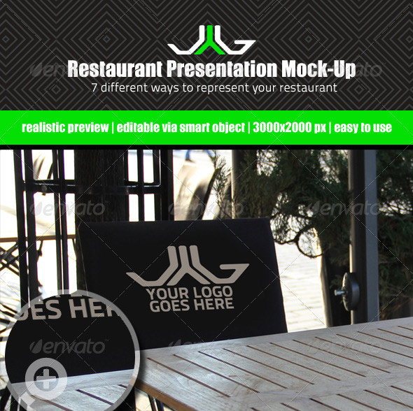 Restaurant Presentation Mock-Up