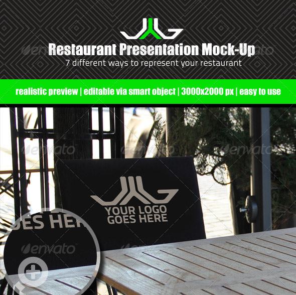 Restaurant Presentation Mock-Up