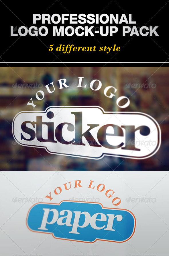 Professional Logo Mock-Up Pack