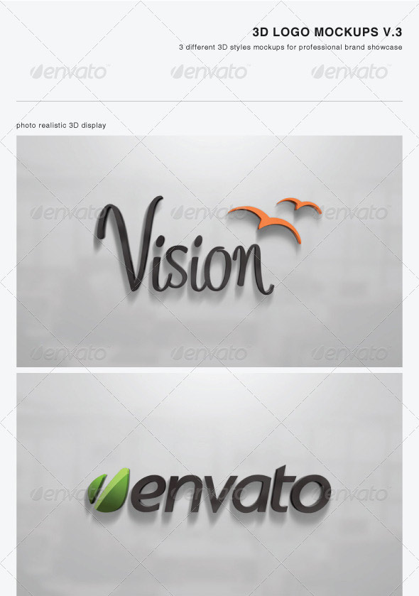 24 best psd logo mock-up templates | web & graphic design | bashooka, Powerpoint templates